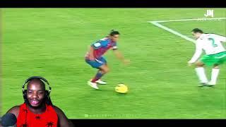 "NBA Fan Reacts To ""Ronaldinho - Football's Greatest Entertainment"""