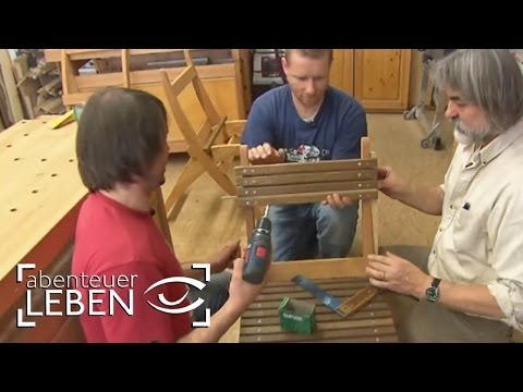Einfach und günstig selber bauen: Gartenmöbel | Abenteuer Leben