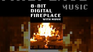 8-Bit Digital Fireplace with Music