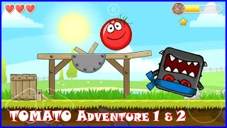 RED BALL 4: Tomato Ball Adventure in chapter 1 and 2