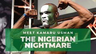 Meet Kamaru Usman | The Nigerian Nightmare | UFC Welterweight Champion | July 2020