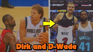 The INTENSE History Between Dirk Nowitzki and Dwyane Wade