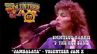 Heres another great Volunteer Jam moment Emmylou Harris performs the Hank Williams