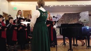 April 2016 Norwegian Women's Choir