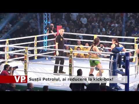 Susții Petrolul, ai reducere la kick-box!
