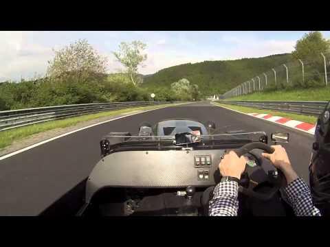 Nurburgring Lap in Westfield V8