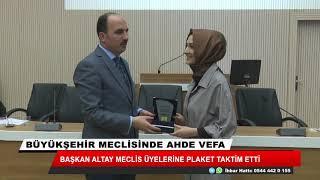 Konya Büyükşehir Meclisi'nde ahde vefa