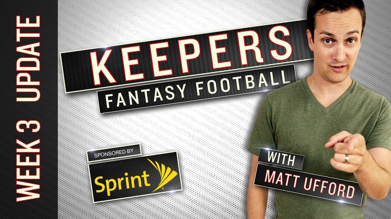 Fantasy Football Week 3 Stars & Monday Plays - Keepers Update thumbnail