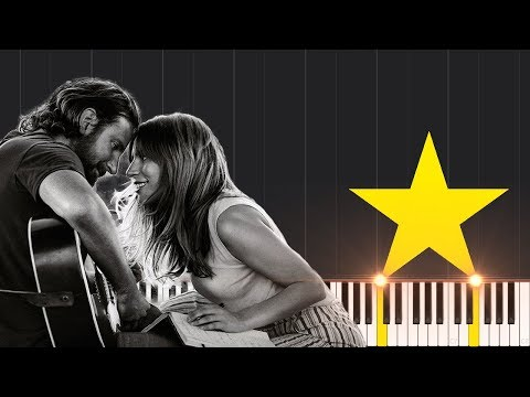 Shallow - Lady Gaga & Bradley Cooper [Piano Tutorial] (Synthesia) // Piano Reeves