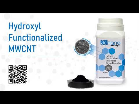Hydroxyl Functionalized Multi-Walled Carbon Nanotubes, OH MWCNT, Hydroxlic Carbon Nanotubes, OH CNT