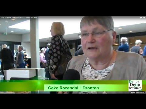 Geke Rozendal 'overdonderd' door opeens een lintje | Video