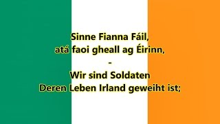 Nationalhymne der Republik Irland (IR/DE Text) - Anthem of Ireland