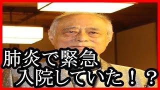 津川雅彦、新藤兼人賞を欠席…病状快方も大事取って