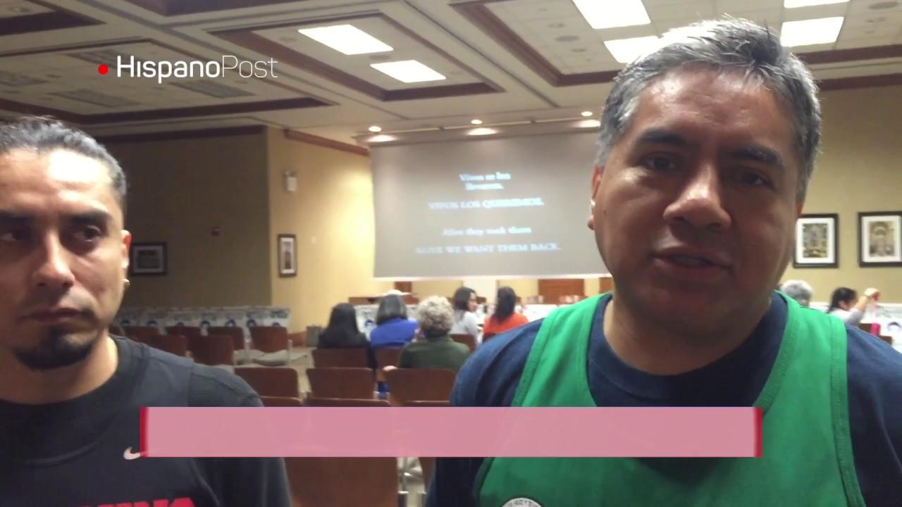 Hispanos de Nueva York reclaman justicia por los 43 de Ayotzinapa