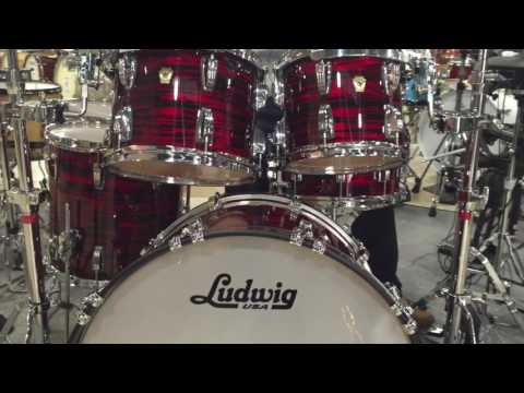LUDWIG CLASSIC MAPLE RED OYSTER PEARL