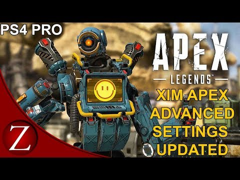 Xim Apex Advanced Mouse And Keyboard Settings (Updated) - Apex Legends PS4 Pro Gameplay