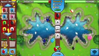 Bloons TD Battles: Swan Lake; First Game Recorded!!!!!!!!!