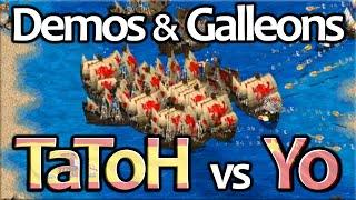 Demolition Ships & Galleons! TaToH vs Yo!