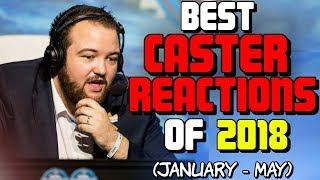 CS:GO - BEST CASTER REACTIONS OF 2018! (Feat. Anders, Sadokist, Pansy & More!)