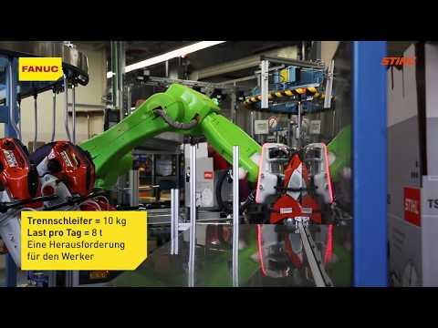 Erfolgsgeschichte: STIHL geht mit kollaborativem Roboter von FANUC neue Wege