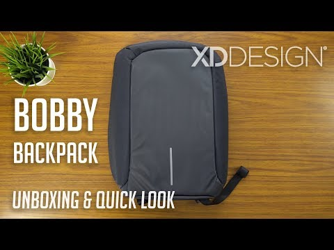Bobby Anti-theft Backpack / XD Design | Unboxing & Quick Look