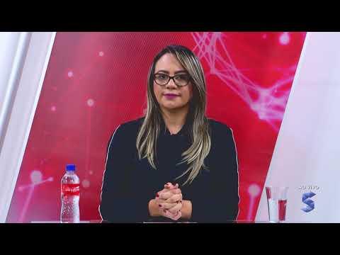 Mariana Carvalho entrevistada em rede nacional pela Record News