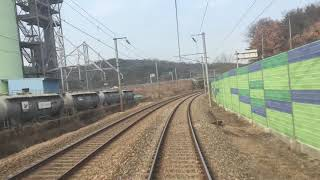 [HD] 경부선 무궁화호 왜관 → 대구 후부 주행영상