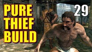 Skyrim Pure Thief Build Walkthrough 100% STOLEN LOOT Part 29: Grand Theft Honningbrew