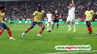 Les images de Algérie – Colombie en vidéo