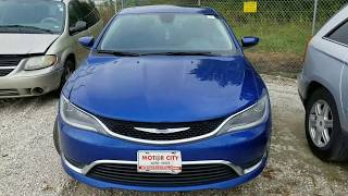 2015 Chrysler 200 Lost Key Replacement in Under 8 Minutes