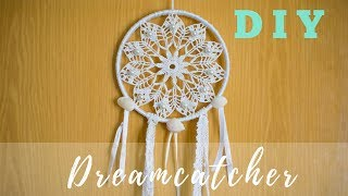 DIY Dreamcatcher Tutorial | How To Make A Crochet Dreamcatcher | J.M.