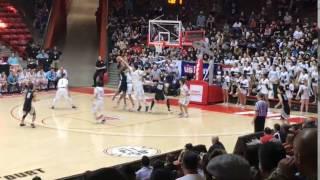 Defense and rebound by Jordan