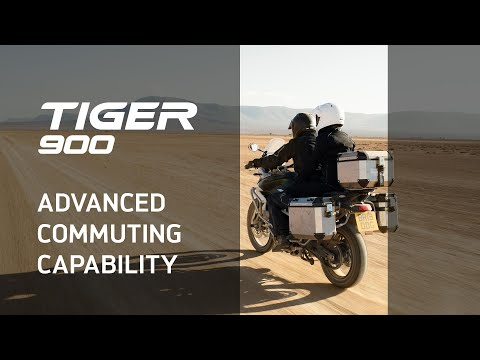 Nueva Triumph Tiger 900 – Novedades – Advanced Commuting Capability