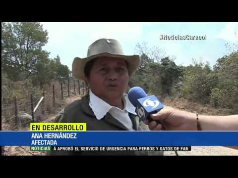 Alerta roja en 10 departamentos de Colombia por incendios forestales 31 agosto 2015
