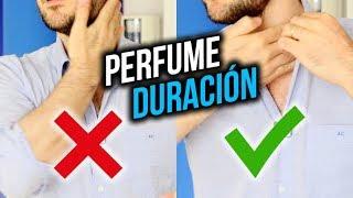 5 cosas fáciles para hacer DURAR tu perfume mucho más