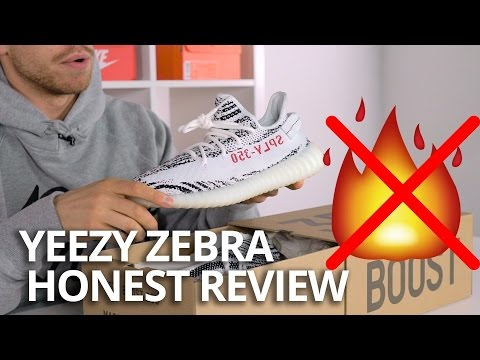 Adidas Yeezy Boost 350 V2 Zebra Review and On Feet - Youtube Download c5e700300