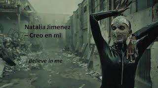 Natalia Jiménez - Creo en mi (Letra español & Inglés ) [Spanish & English lyrics]