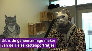 Dit is de geheimzinnige kattenkunstenaar uit Tiel