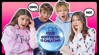 My BOYFRIEND CHEATED On Me?!? My CRUSH REACTS To Psychic Challenge **THE TRUTH**🔮💔| Sophie Fergi