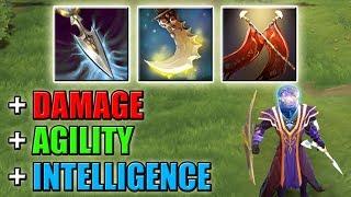 Next level steal [+Agility + Damage + Intelligence] Ability Draft