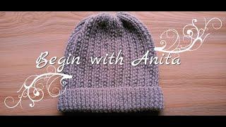 Tutorial 94- cap knitting for beginners/ बड़ों के लिए आसान टोपी बुनाई।