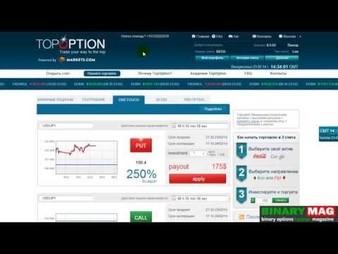 Урок 3 пополнение баланса и активация аккаунта Topoption