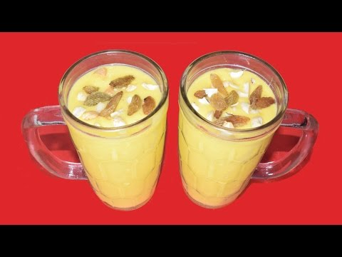 Mango Lassi – Most Popular Summer Drink Recipe – Mango Smoothie