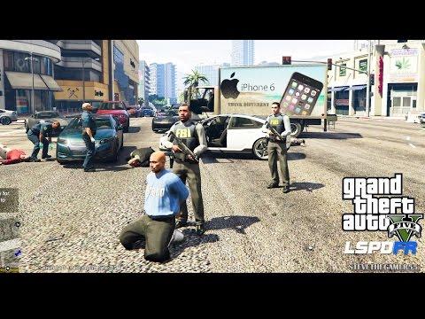 GTA 5 - LSPDFR - EPiSODE 71 - LET'S BE COPS - CITY PATROL