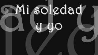 Mi Soledad Y Yo - Alejandro Sanz