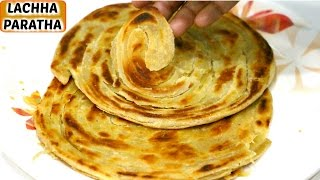 How To Make Lachha Paratha  Multilayer/Malabari Paratha | CookWithNisha
