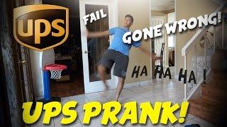 UPS PRANK ON MY TWIN BROTHER! (FAIL)
