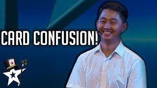 Magician Confuses Judges With Card Magic on Cambodia