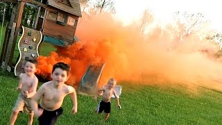 PLAYGROUND CATCHES FIRE!!