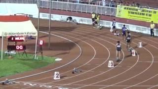 4x100m men final  - Asian Junior 2016